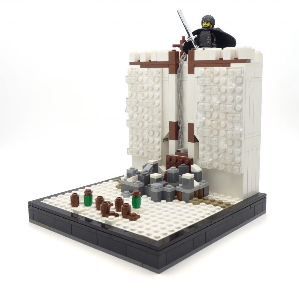 Lego Castle Black Bookend