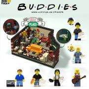 central perk friends lego minifig minifigure